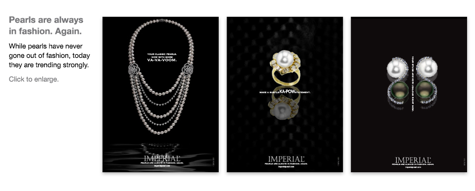Imperial Pearl ad campaign